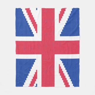 Cobertor De Velo Design original Union Jack do ponto de cruz