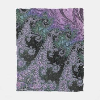 Cobertor De Velo Design roxo do quarto da cobertura do velo do