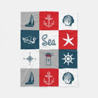Cobertor De Velo Design temático náutico