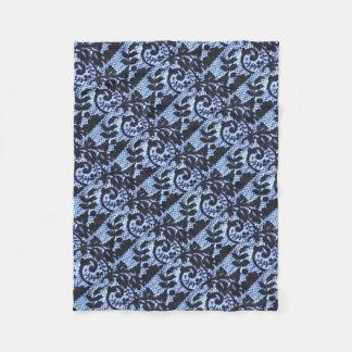 Cobertor De Velo Detai preto bonito do tecido do laço do vintage
