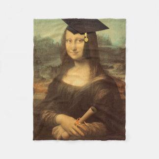 Cobertor De Velo Dia de graduação de Mona Lisa