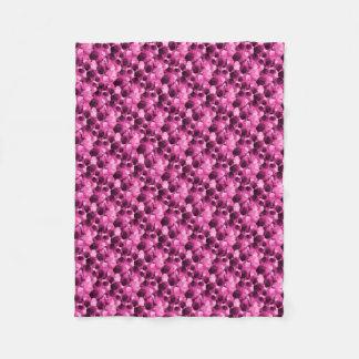 Cobertor De Velo Diamante roxo