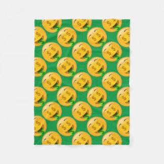 Cobertor De Velo Dinheiro Emoji do divertimento