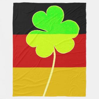 Cobertor De Velo Divertimento alemão irlandês de St Patrick do