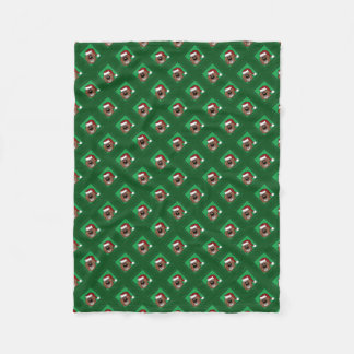 Cobertor De Velo Doodle natais castanhos