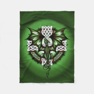 Cobertor De Velo Dragão celta