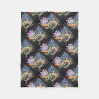 Cobertor De Velo Dragão chinês