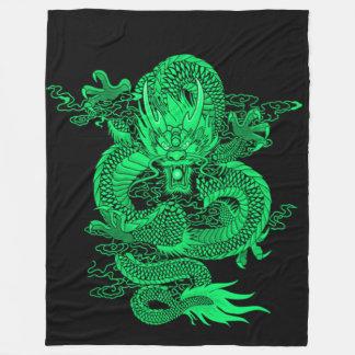 Cobertor De Velo Dragão do imperador da terra