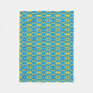 Cobertor De Velo Ducky de borracha amarelo nas bolhas