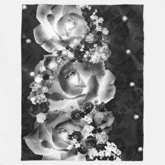 Cobertor De Velo Dúzia rosas