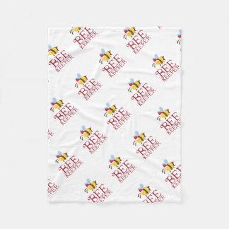 Cobertor De Velo Edição do Natal do depositário da abelha