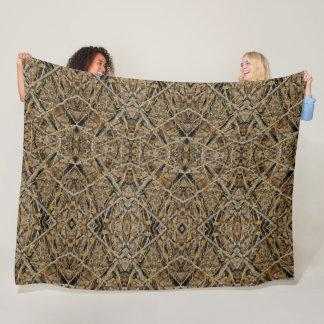 Cobertor De Velo Edredão celta decorativa de Camo do caçador do