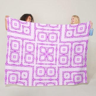 Cobertor De Velo Edredão colorida da mandala do gato bonito do