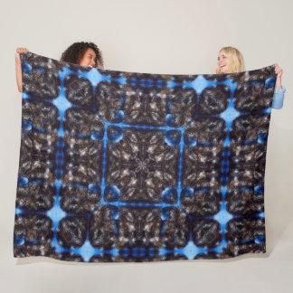 Cobertor De Velo Edredão da mandala da fantasia da constelação de