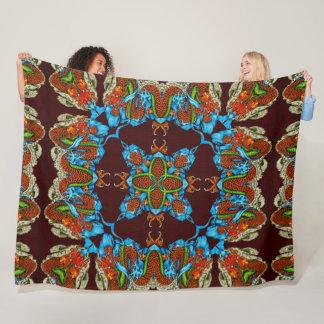 Cobertor De Velo Edredão de seda do espírito chinês Mystical do
