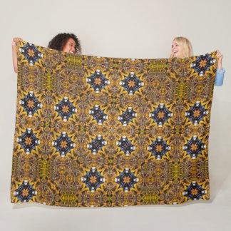 Cobertor De Velo Edredão dourada da roda denteada de Steampunk do