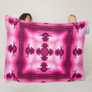 Cobertor De Velo Edredão Mystical do cetim da mandala do unicórnio