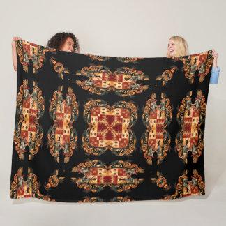 Cobertor De Velo Edredão real antiga da crista do cavaleiro