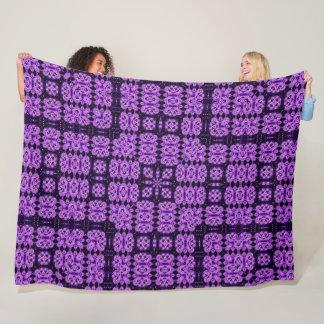 Cobertor De Velo Edredão roxa do Foulard do unicórnio