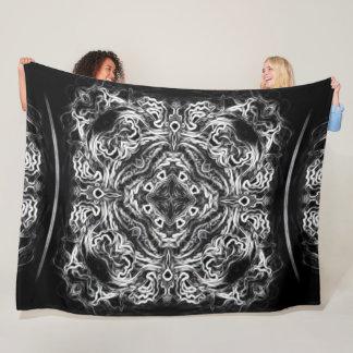 Cobertor De Velo Edredão tribal da mandala do dragão nativo do