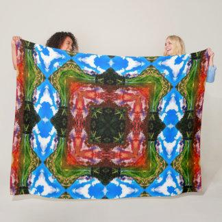 Cobertor De Velo Edredão tribal da mandala dos elementos do Shaman