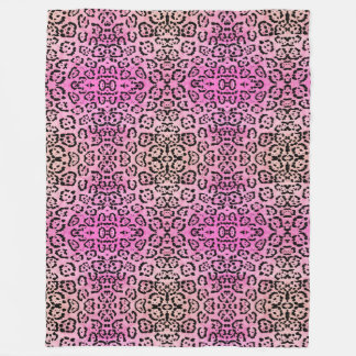 Cobertor De Velo Efeito cor-de-rosa da pintura de óleo do animal do