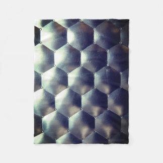 Cobertor De Velo Efeito do hexágono 3D - textura do teste padrão do