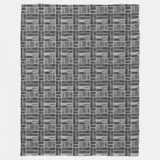 Cobertor De Velo Efeito preto e branco dos azulejos