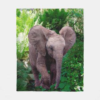 Cobertor De Velo Elefante e selva