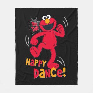 Cobertor De Velo Elmo   faz a dança feliz