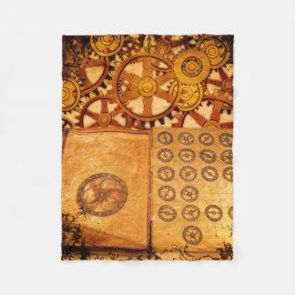 Cobertor De Velo Engrenagens de Steampunk do Grunge