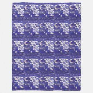 Cobertor De Velo Envolva-se nos séculos da sabedoria azul do