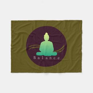 "Cobertor De Velo ""Equilíbrio"" Buddha. bonito"