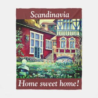 Cobertor De Velo Escandinávia, casa do doce da casa!