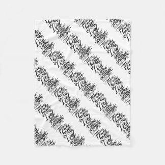 Cobertor De Velo Esperança no senhor Escovadela Roteiro