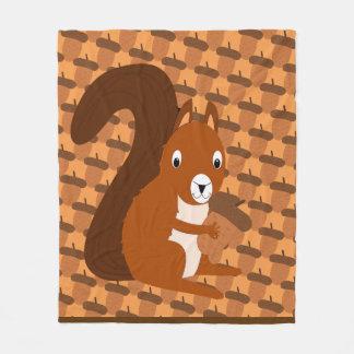 Cobertor De Velo Esquilo que guardara a cobertura do velo da bolota