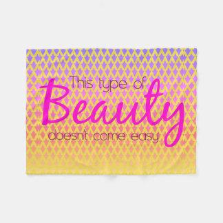 Cobertor De Velo Este tipo de fluorescente geométrico da beleza