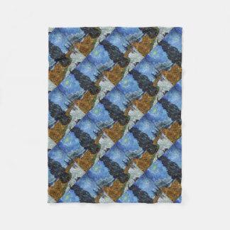 Cobertor De Velo Estrada secundária de Vincent van Gogh em Provence