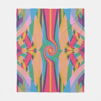 Cobertor De Velo Estranho colorido