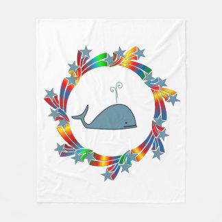 Cobertor De Velo Estrelas da baleia