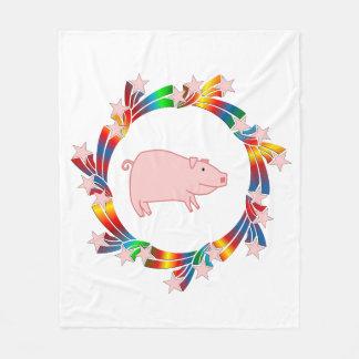 Cobertor De Velo Estrelas do porco
