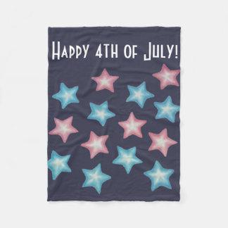 Cobertor De Velo Estrelas felizes