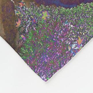Cobertor De Velo Estrelas mágicas da folha de bordo no céu nocturno