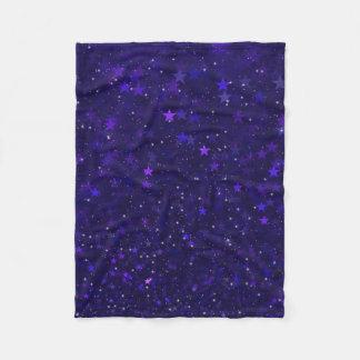 Cobertor De Velo Estrelas roxas de Bokeh