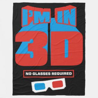 Cobertor De Velo Eu estou em 3D (nenhum vidro exigido)