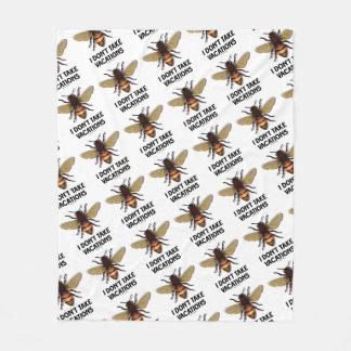 Cobertor De Velo Eu não tomo o humor da apicultura da abelha do mel