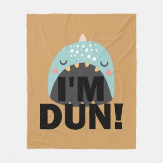 Cobertor De Velo Eu sou baleia do monstro do DUN