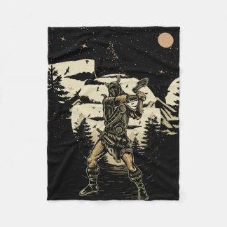 Cobertor De Velo Eu sou o guerreiro