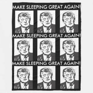 Cobertor De Velo Faça a cobertura de Donald Trump do excelente do