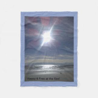 Cobertor De Velo Feliz & livre no mar!